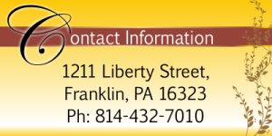 Website - widget contact info