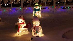 Benjamin's Roadhouse Christmas Display 4