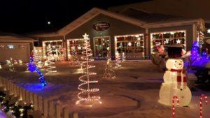 Benjamin's Roadhouse Christmas Display 3