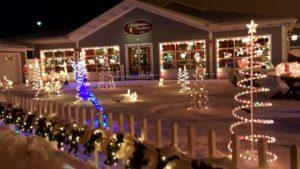 Benjamin's Roadhouse Christmas Display 2