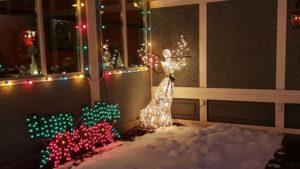 Benjamin's Roadhouse Christmas Display 11