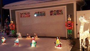 Benjamin's Roadhouse Christmas Display 10