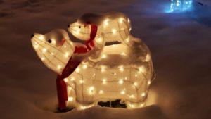 Benjamin's Roadhouse Christmas Display 7