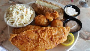 ALL you can EAT COD at Benjamin's Roadhouse in Franklin, Pa