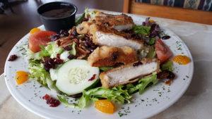 Chicken Salad at Benjamin's Roadhouse in Franklin, Pa